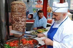 Middle Eastern cuisine - Doner kebab