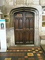 Door to the vestry at St Laurence, Ludlow - geograph.org.uk - 1444579.jpg