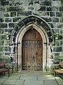 Doorway, St James Church, Westhead. - geograph.org.uk - 536520.jpg