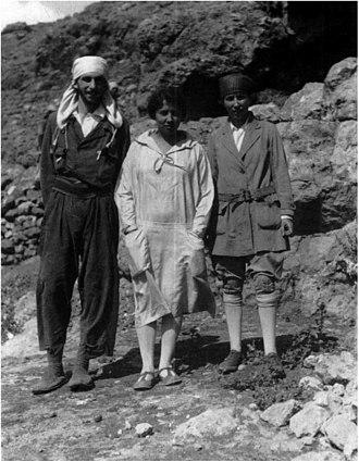 Natufian culture - Dorothy Garrod (centre) discovered the Natufian culture in 1928