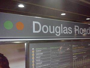Douglas Road station