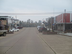 Broken Bow, Oklahoma - A portion of downtown Broken Bow