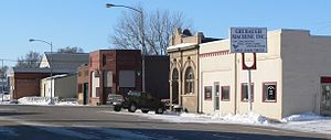 Platte Center, Nebraska - Downtown Platte Center