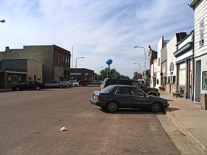 National Register of Historic Places listings in McCook County, South Dakota - Image: Downtown Salem
