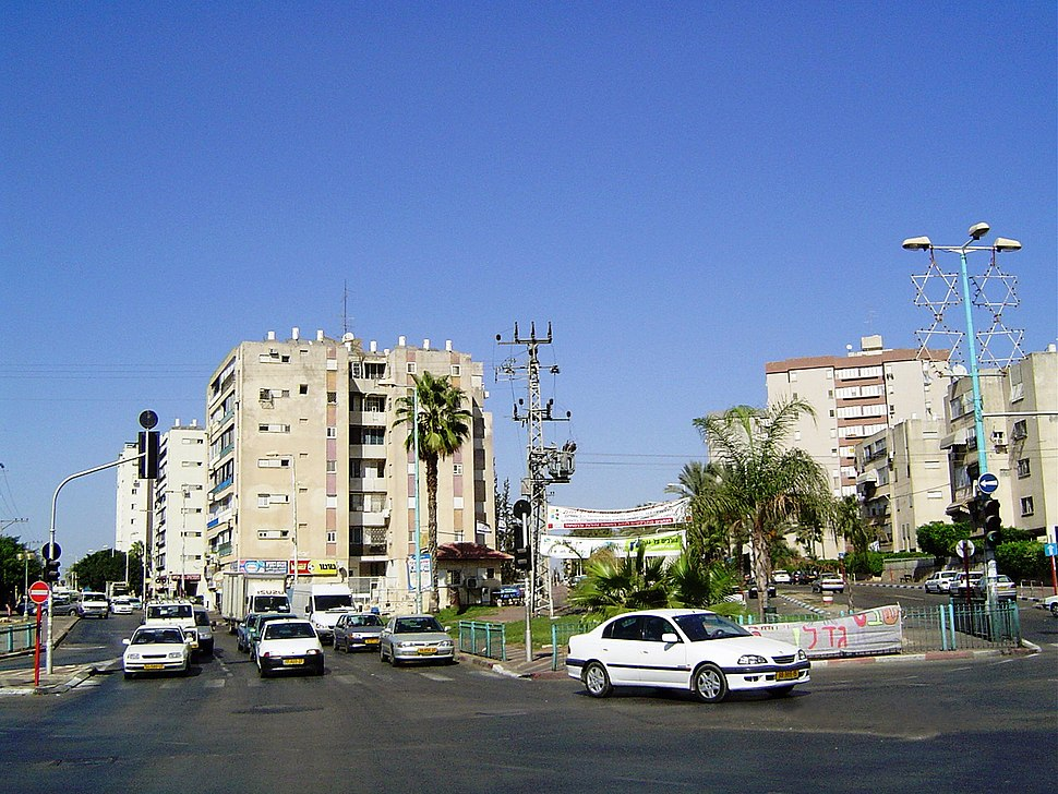 Downtown area of Lod, Israel 00262