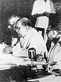 Dr. Ambedkar engrossed in work during the making of the Constitution of India.jpg