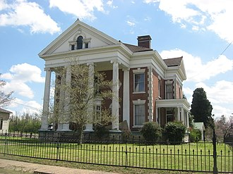 National Register of Historic Places listings in Fulton County, Kentucky - Image: Dr. James Hubbard House in Hickman