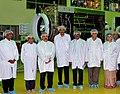 Dr. Jitendra Singh accompanied by chairman of ISRO, A. S. Kiran Kumar at ISRO Satellite Station.jpg