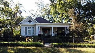 National Register of Historic Places listings in Grant County, Arkansas - Image: Dr. John L. Butler House 001