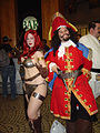 Dragon Con 2009 - Red Sonja Capn Morgan (3917396427).jpg