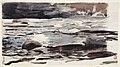 Drawing, A Woodland Stream, 1891 (CH 18174321).jpg