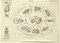 Drawing, Oval Ceiling with Three Graces, Design for Sala di Enea, Palazzo Marescalchi, Bologna, 1810 (CH 18110665).jpg