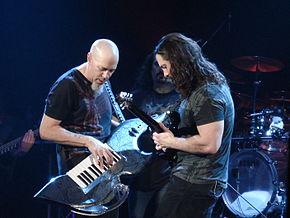 Duetto tra Petrucci e Rudess (Buenos Aires 2008)
