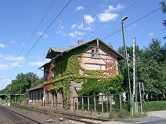 Dreieich - Dreieich-Buchschlag station