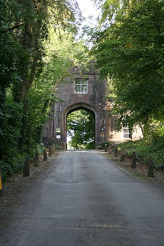 Markree Castle - The entrance gate