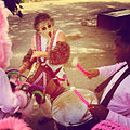 Drumming Mardi Gras Indians Super Sunday 2014.jpg