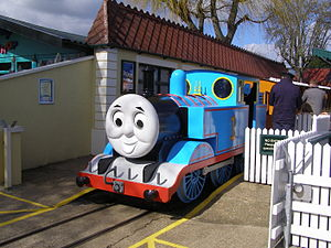 Drusillas Zoo Park Thomas the Tank Engine