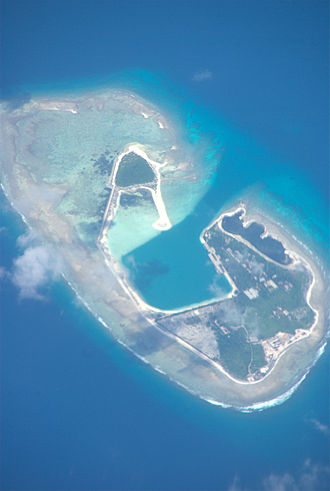 Paracel Islands - Harbour developments between the Duncan Islands (December 2012)