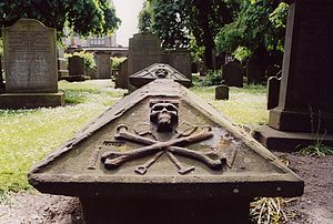 The Howff - Grave in The Howff