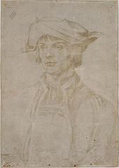 Portrait of Lucas van Leyden
