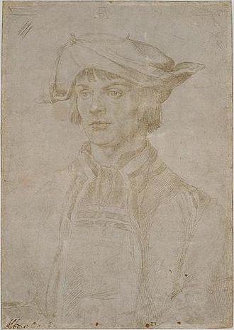 1521 in art - Image: Durer Lucas Van Leyden