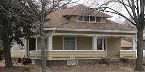 National Register of Historic Places listings in Dodge County, Nebraska - Image: Durkee house (Fremont, Nebraska) from SE 1