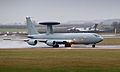 E-3D Sentry Aircraft Lands at RAF Waddington MOD 45153682.jpg