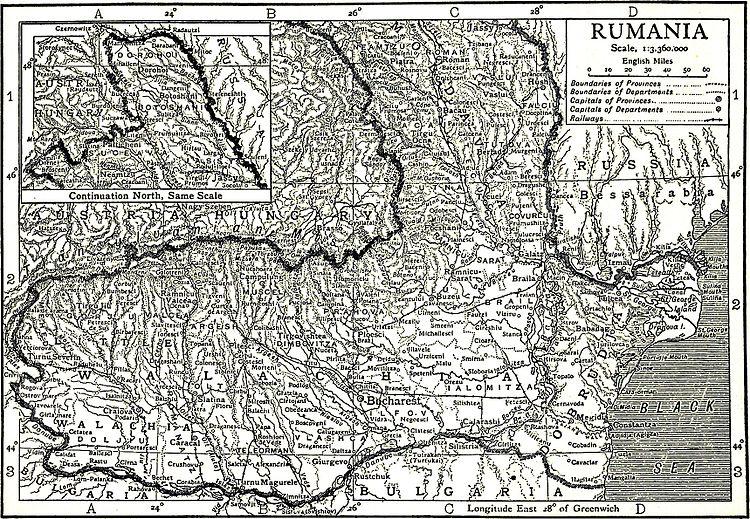 1911 Encyclopædia Britannica/Rumania - Wikisource, the free
