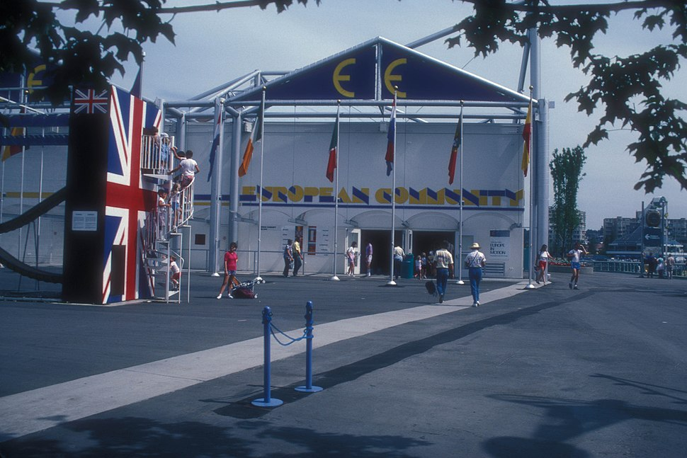 EEU PAVILION AT EXPO 86, VANCOUVER, B.C.