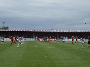 Eastbourne Borough F.C. - Eastbourne Borough home to Maidenhead United on 18 August 2007.