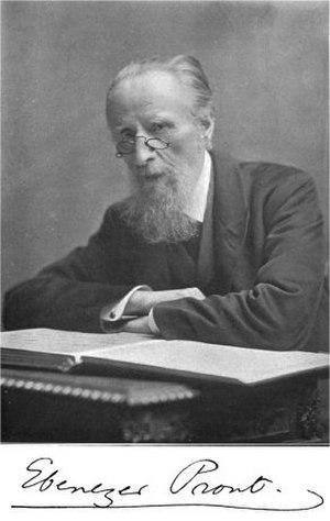 Ebenezer Prout - Ebenezer Prout in the late 1890s