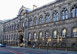 Edinburgh Medical School building, Teviot Place