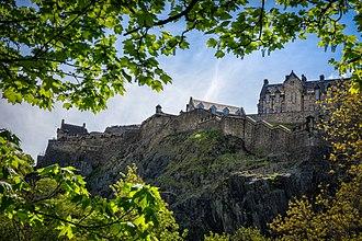 Land of Maidens - Edinburgh Castle in 2018