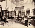 Editor's room in The Times of India office in Bombay, November 1898.jpg