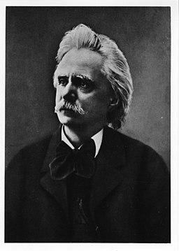 Edvard Grieg portrait - 13990408302
