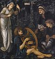 Edward Burne-Jones - The Madness of Sir Tristram.jpg
