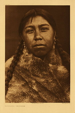 Skokomish people - Tsatsalatsa - Skokomish by Edward S. Curtis, 1913