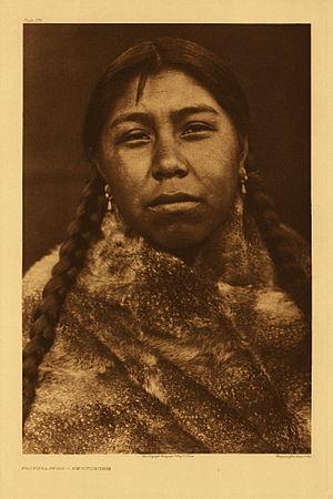 Skokomish people - Tsatsalatsa - Skokomish by Edward S. Curtis, 1913