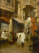 Edwin Lord Weeks Promenade on an Indian Street.jpg