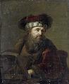Een man in oriëntaals kostuum, bekend als 'De rabbijn' Rijksmuseum SK-A-946.jpeg
