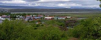 Egilsstaðir - 2005 view of Egilsstaðir