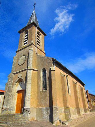 Alaincourt-la-Côte - The church in Alaincourt-la-Côte