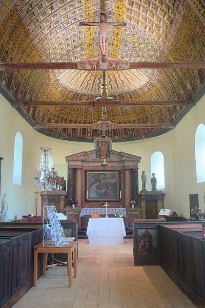 Eglise Saint-Martin de La Croix-du-Perche et sa charpente ornée de 1537