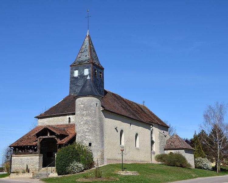 Church of La Rothière, Aube, France