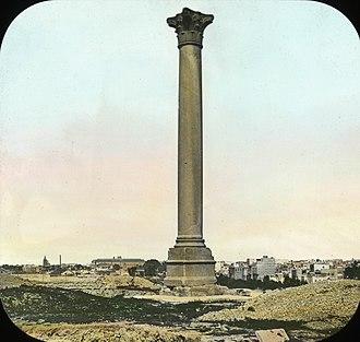 John Shortland - Pompey's Pillar, Alexandria