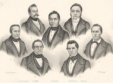 Eidgenössischer Bundesrath - Conseil Exécutif Fédéral (1848).jpg