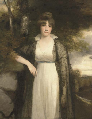 William Eden, 1st Baron Auckland - Eden's daughter Eleanor Agnes, by John Hoppner