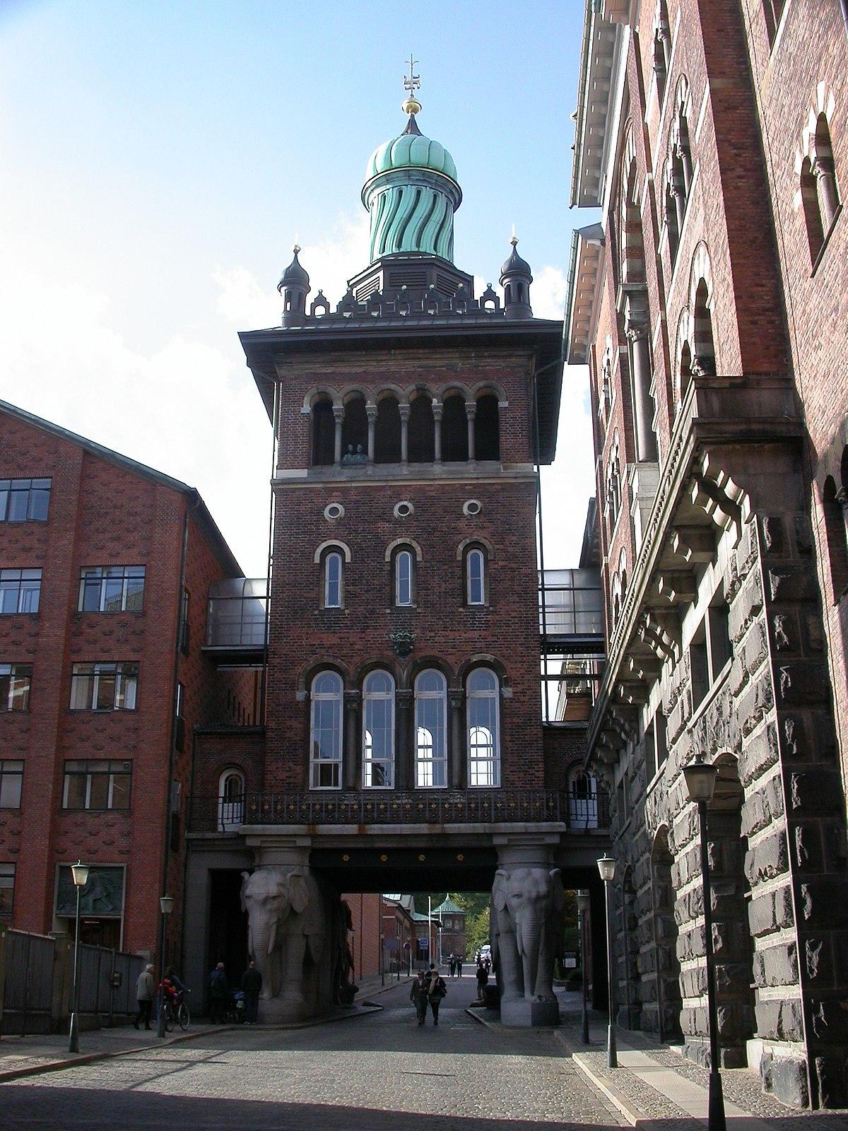 Elephant Gate And Tower Carlsberg Wikipedia