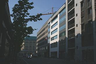 Embassy of France, Berlin - Wilhelmstraße frontage