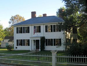 Lidian Jackson Emerson - Emerson Family Home in Concord